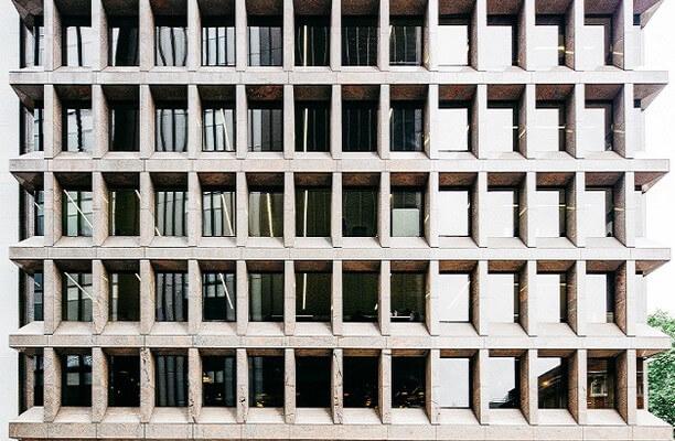 Duke's Place E1, EC3 office space – Building External