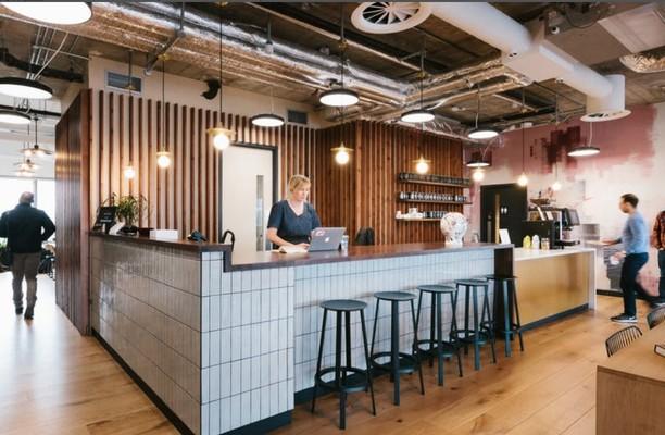 St. Katharine Way E1 office space – Kitchen