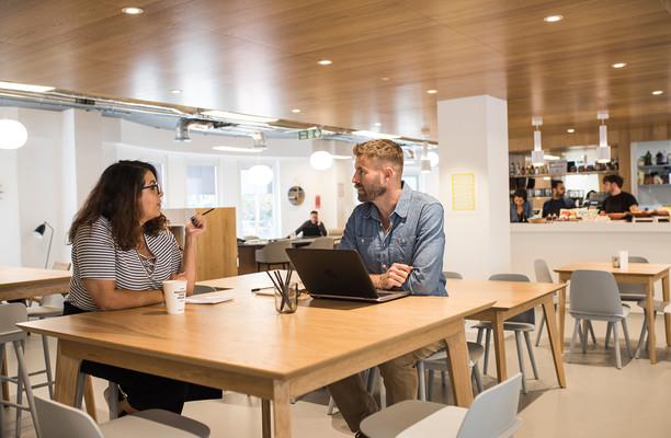 Trafalgar Place office space – Break Out Area