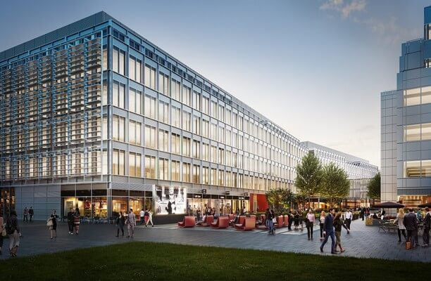 White City Place W12 office space – Building External