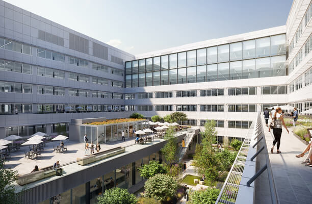 White City Place W12 office space – Outdoor Area