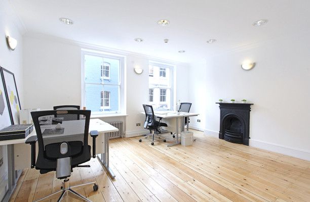 Berwick Street W1 office space – Private Office (different sizes available).