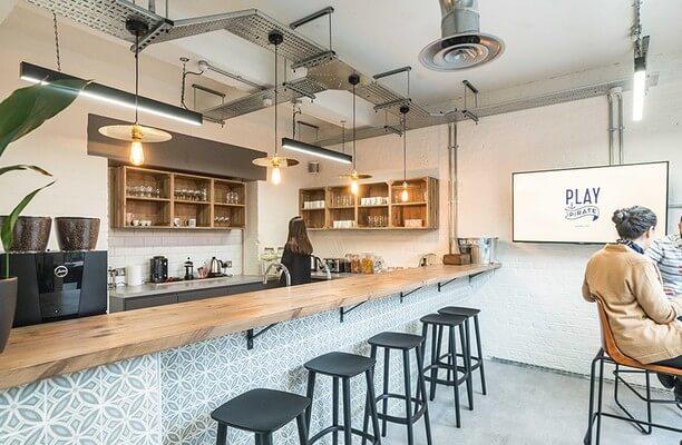 Tanner Street SE16 office space – Kitchen