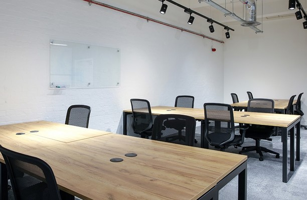 Jerusalem Passage EC1 office space – Private Office (different sizes available).