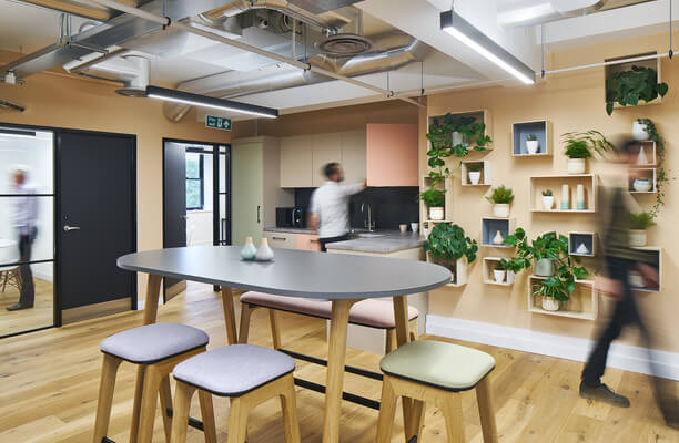 Long Lane SE1 office space – Kitchen