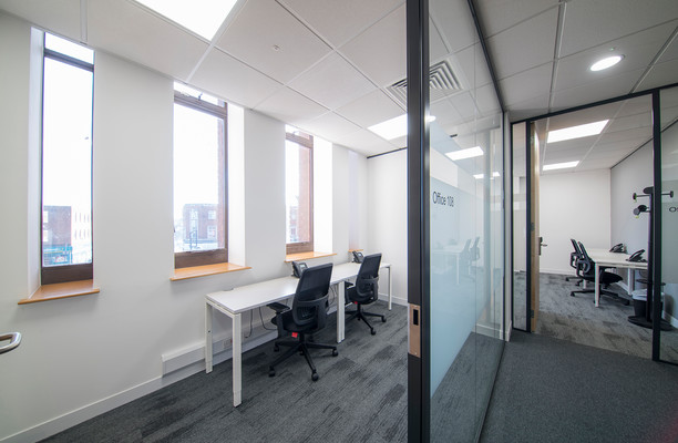 Lewisham High Street SE13 office space – Private Office (different sizes available).