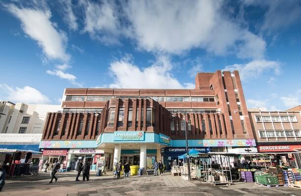 Lewisham High Street SE13 office space – Building External
