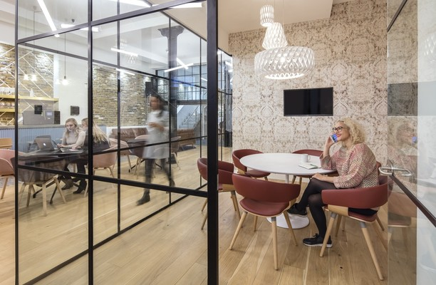 Clerkenwell Road EC1 office space – Meeting/Boardroom.