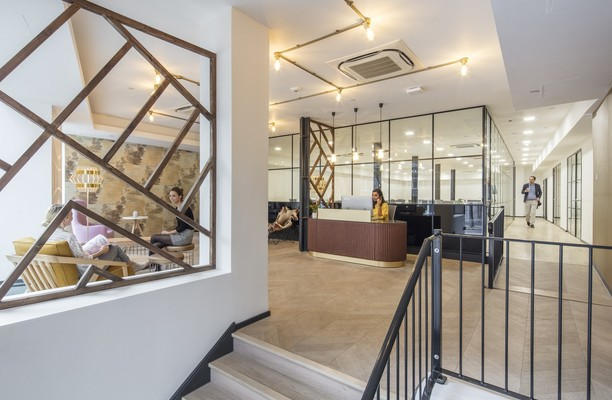 Clerkenwell Road EC1 office space – Reception