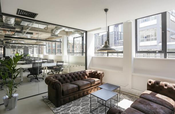 Luke Street EC1, EC2 office space – Break Out Area