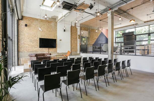 Luke Street EC1, EC2 office space – Meeting/Boardroom.