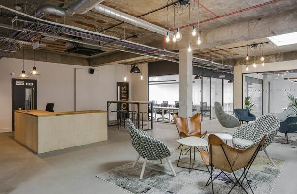Luke Street EC1, EC2 office space – Reception