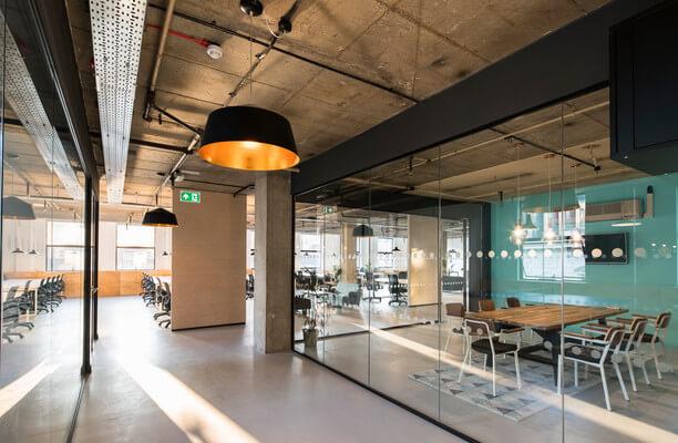 Leman Street E1, EC3 office space – Hallway