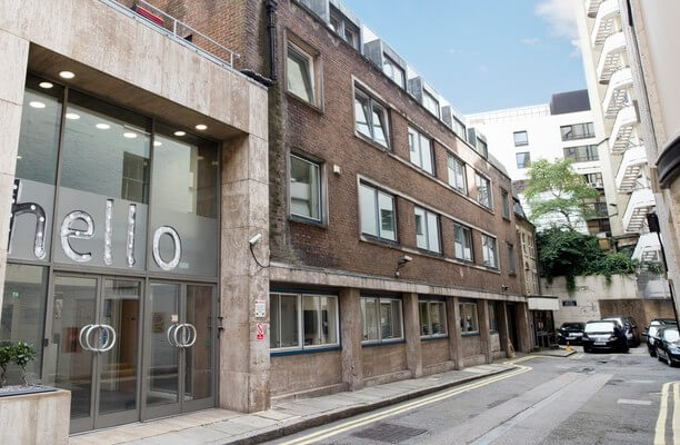 Yarmouth Place W1 office space – Building External