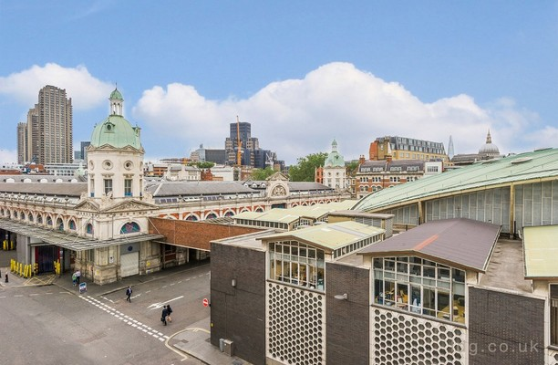 Charterhouse Street EC1 office space – View