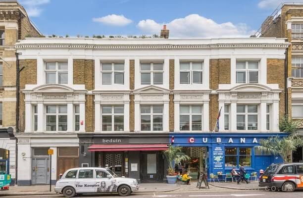 Charterhouse Street EC1 office space – Building External