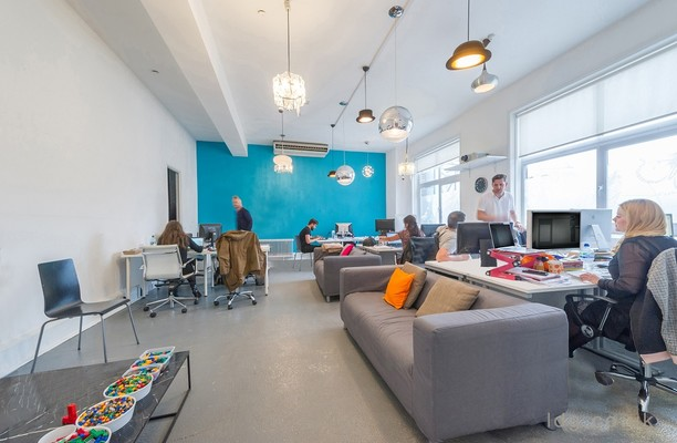 Charterhouse Street EC1 office space – Break Out Area