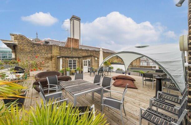 Charterhouse Street EC1 office space – Outdoor Area