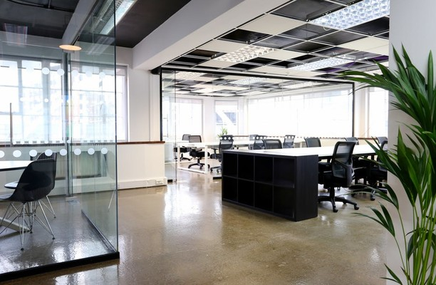 Great Eastern Street EC2 office space – Private Office (different sizes available).