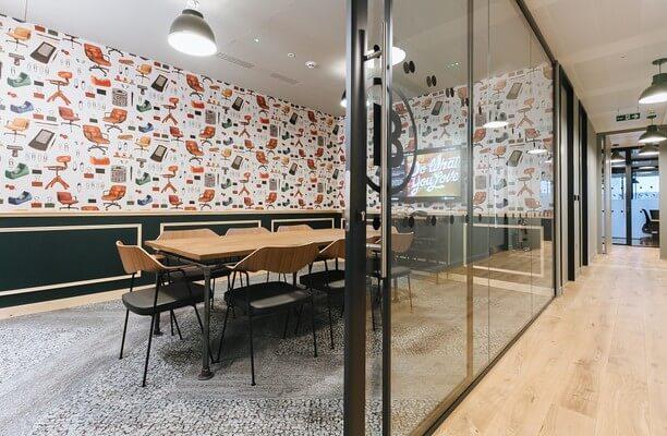Mark Square EC1, EC2 office space – Meeting/Boardroom.