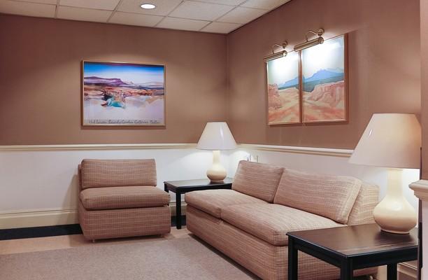 Rosemount Viaduct AB10 office space – Reception