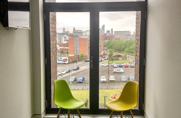 Bridgewater Street L2 office space – Break Out Area