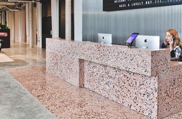 Albert Embankment SE1 office space – Reception