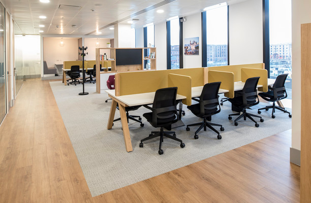 Mann Island L2 office space – Shared Office