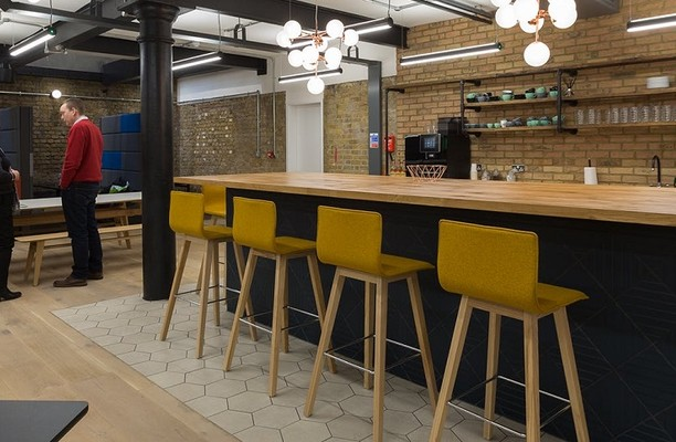 Southwark Bridge Road SE1 office space – Kitchen