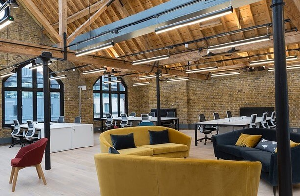Southwark Bridge Road SE1 office space – Private Office (different sizes available).