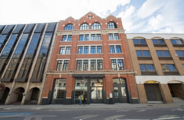 Southwark Bridge Road SE1 office space – Building External