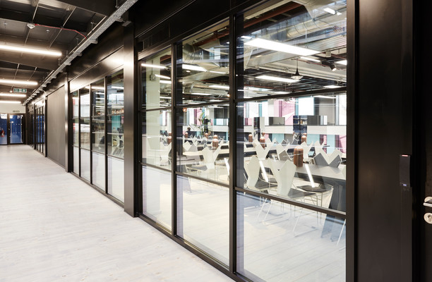 North Stables Market NW1 office space – Hallway