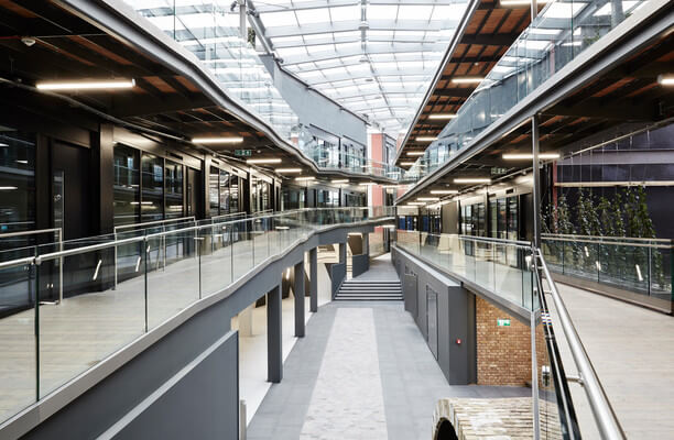 North Stables Market NW1 office space – Atrium