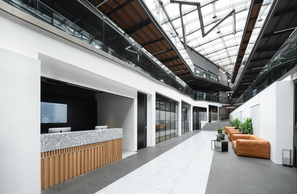 North Stables Market NW1 office space – Reception