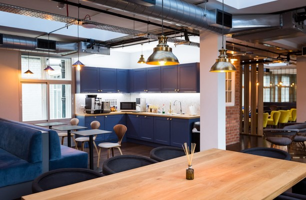 Regent Street W1 office space – Kitchen