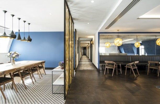 North Audley Street W1 office space – Break Out Area