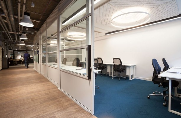 Central Street EC1 office space – Private Office (different sizes available).