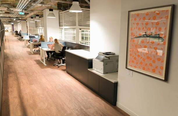 Central Street EC1 office space – Shared Office