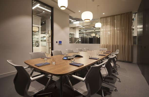 Central Street EC1 office space – Meeting/Boardroom.