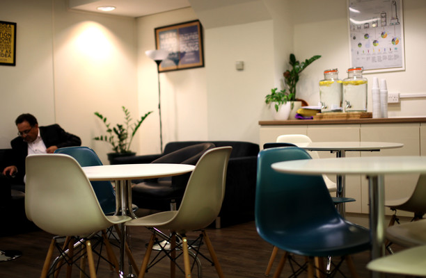 East Poultry Avenue EC1 office space – Break Out Area