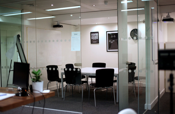 East Poultry Avenue EC1 office space – Meeting/Boardroom.
