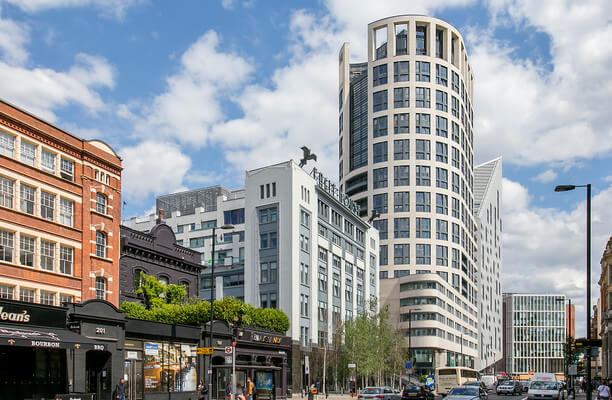 Westland Place EC1 office space – Building External