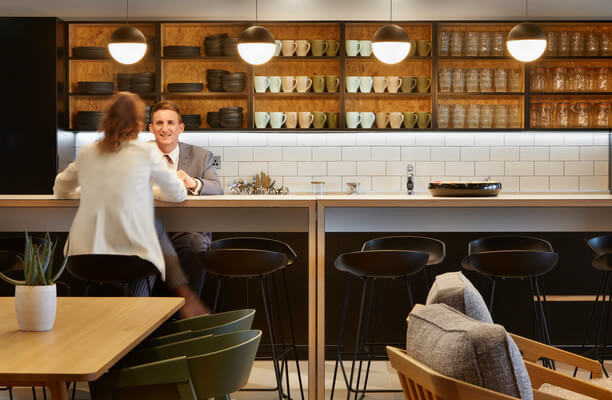 Suffolk Street Queensway B4 office space – Kitchen