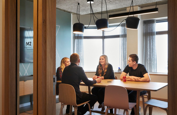 Suffolk Street Queensway B4 office space – Meeting/Boardroom.