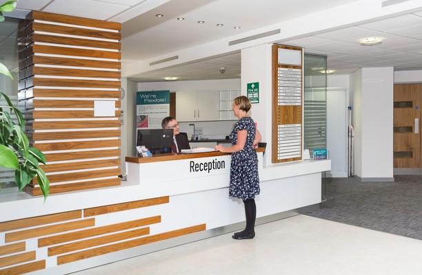 Delta Bank Road NE8 office space – Reception