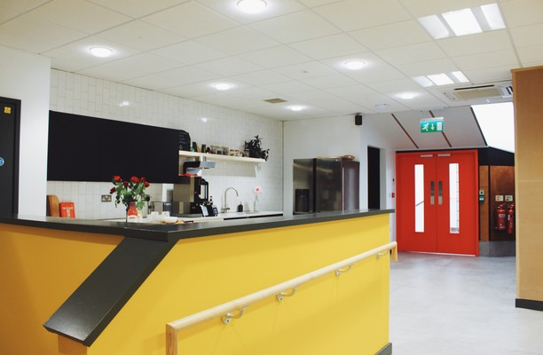 Tisbury Road BN3 office space – Kitchen