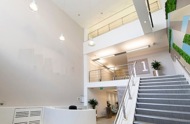 Albion Street LS1 office space – Reception