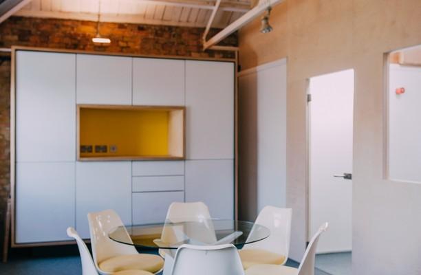 Curtain Road EC1 office space – Meeting/Boardroom.