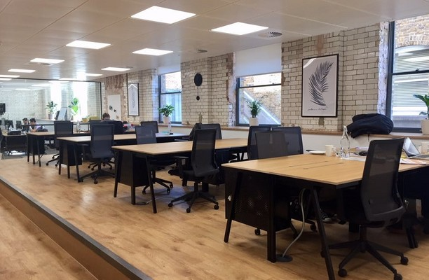 Eccleston Place SW1 office space – Private Office (different sizes available).