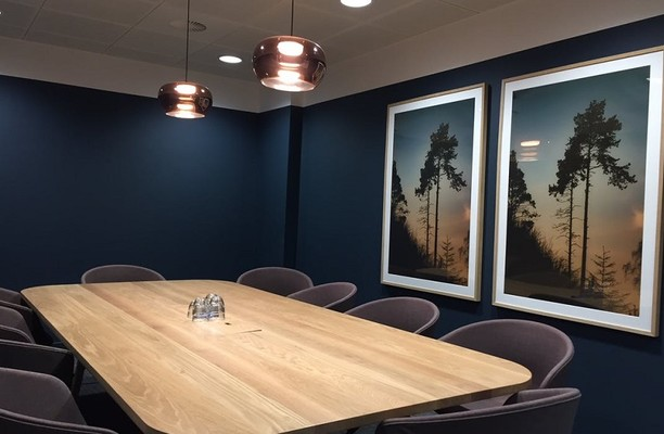 Eccleston Place SW1 office space – Meeting/Boardroom.